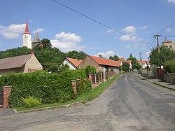 Votoce KO CZ church from SW 502.jpg