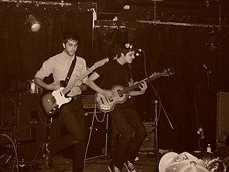 Voxtrot - Ramesh Srivastava and Jason Chronis performing with Voxtrot in Chicago, 2006