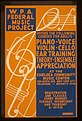 W.P.A. Federal Music Project offers the following courses for adults - piano, voice, violin, cello, ear training, theory, (and) ensemble appreciation at the Chelsea Community Music Center LCCN98515052.jpg