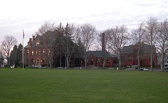 Worcester Academy - Walker Hall, The Megaron, and Adams Hall
