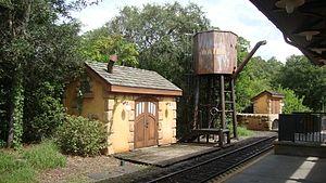 Walt Disney World Railroad - Image: WDWRR Fantasyland Station
