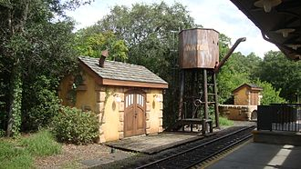 Walt Disney World Railroad - Image: WDWRR Fantasyland Station