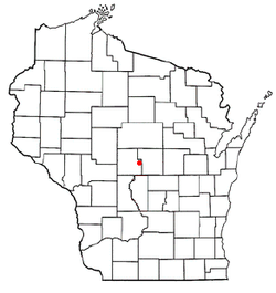 Location of Biron, Wisconsin
