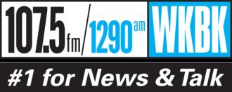 WKBK - Image: WKBK AM & W298BT FM Logo (February 2015)
