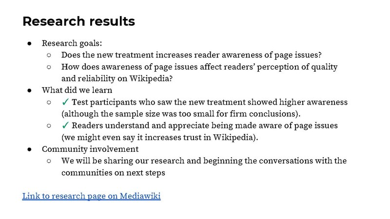 File:WMF Reading, PM, Design Research, Wikidata May 2018 Quarterly Check-In.pdf