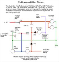 electric vehicle conversion  control and interlocks