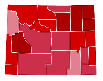 United States presidential election in Wyoming, 2000 - Image: WY2000