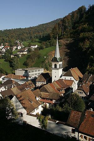 Waldenburg, Switzerland - Image: Waldenburg Stadt