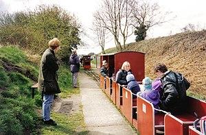 Walsingham (W&WLR) railway station - Image: Walsingham 3