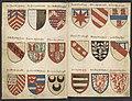 Wapenboek Beyeren (armorial) - KB79K21 - folios 057v (left) and 036r (right).jpg