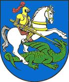 Das Wappen von Rötha