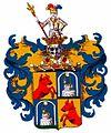 Wappen der Barone Butz von Rolsberg 1734.jpg