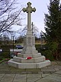 War Memorial, St John's Church, Baxenden - geograph.org.uk - 1603648.jpg