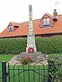 War Memorial in Plungar - geograph.org.uk - 963021.jpg