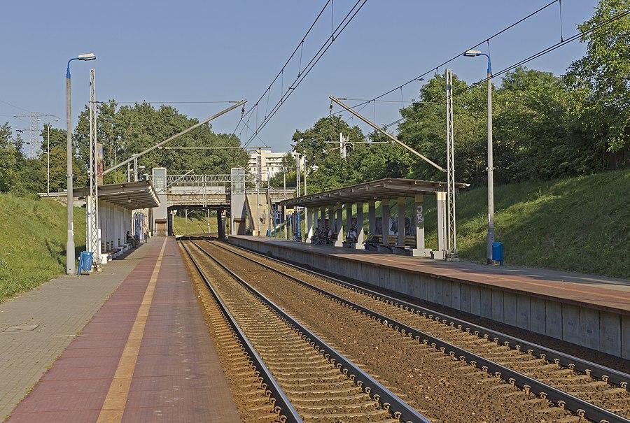 Warszawa Żwirki i Wigury railway station