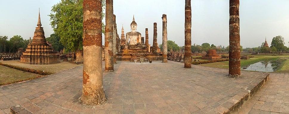 Wat Mahathat Buddha - Sukhothai