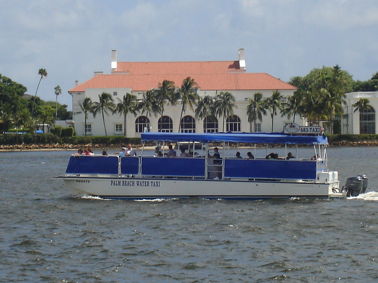Water Taxi Palm Island Fl