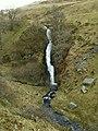 Water from Nant Gorlan and Nant Gwndwn-gwyn joins Nant Cae-glas - geograph.org.uk - 751309.jpg