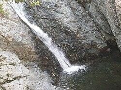 Waterfall and pond - Samothrace