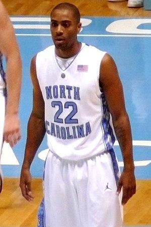 Wayne Ellington - Ellington with the North Carolina Tar Heels in 2009