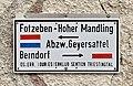 Wegweiser Fotzeben - Hoher Mandling, Grillenberg.jpg