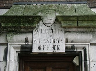 Unit of measurement - The former Weights and Measures office in Seven Sisters, London