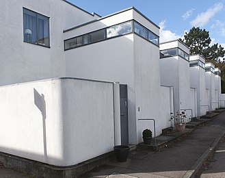 Weissenhof Estate - Homes 5-9: Terraced houses by J.J.P. Oud