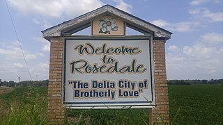 Rosedale, Mississippi City in Mississippi, United States