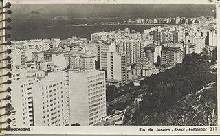 Bairro de Copacabana - Rio de Janeiro
