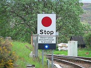 Radio Electronic Token Block railway signalling system
