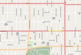 Los Ángeles (L.A.) - Página 2 330px-West_Pico_Boulevard--OpenStreetMap_lat_34.04798_lon_-118.29831_16x