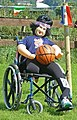 Wheelchair basketball, Norland Scarecrow Festival (Taken by Flickr user 1st September 2012).jpg