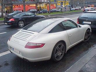 Porsche 997 - Porsche 997 Targa