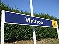 Whitton station signage 2012.JPG