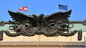 Double-headed eagle - Ministry of War, Vienna