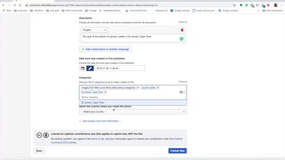 File:Wiki Loves Africa upload wizard tutorial.webm