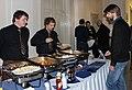Wikiconference 2013 Prague, lunch.jpg