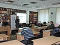 Wikimarathon 2019 in Kharkiv by Наталія Ластовець 2019-01-27 01.jpg