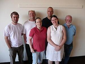 Wikimedia Australia committee 2009-2010.JPG