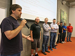 Wikimedia Foundation 2013 Tech Day 1 - Photo 05.jpg
