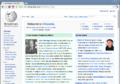 Wikipedia Homepage on Chromium Web browser.png