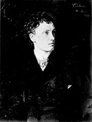 Portrait of Actor Josef Kainz
