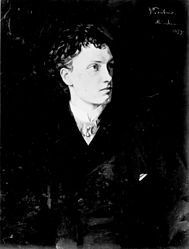 Wilhelm Trübner: Portrait of Actor Josef Kainz