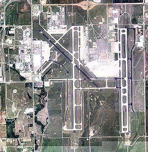 Will Rogers World Airport - 2006 USGS Orthophoto