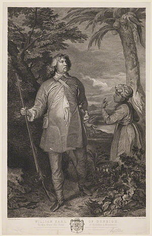 John Beugo - Image: William Feilding, 1st Earl of Denbigh by John Beugo, published by Hugh Paton, after Sir Anthony van Dyck