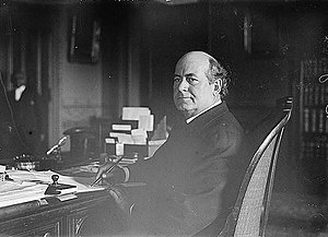 William Jennings Bryan, American lawyer, state...