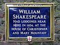 William Shakespeare Had Lodgings Here in 1604.jpg