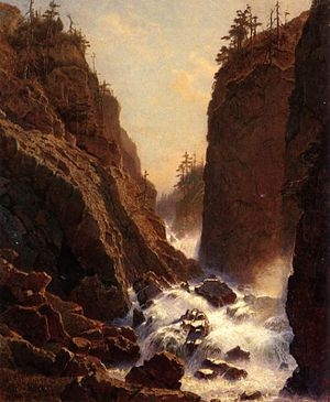 William Stanley Haseltine - William Stanley Haseltine, Cascade