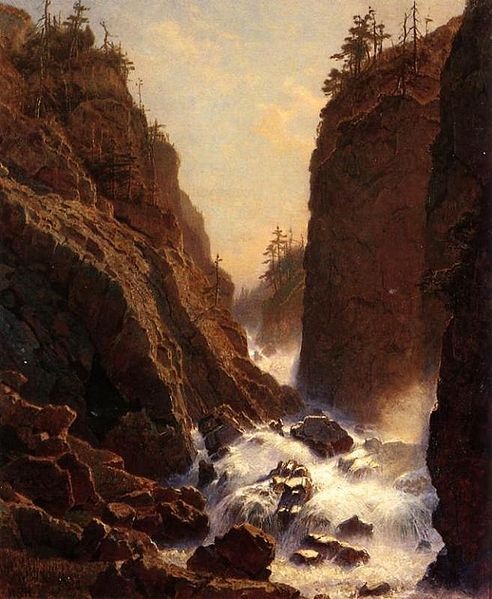 File:William Stanley Haseltine - Cascade.jpg