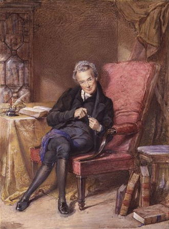 George Richmond (painter) - Watercolour of William Wilberforce, 1833.